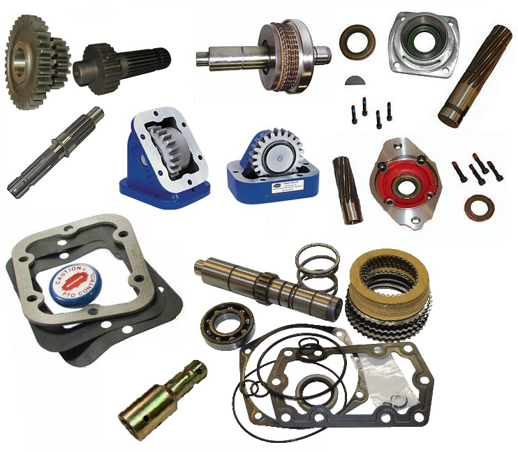 Parts Power Take Off : Muncie parts manuals total drivetrain co